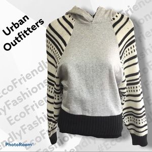 Urban Outfitters Gray Motif Sweater